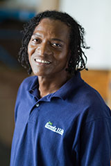 "Eldridge ""EJ"" Jones : Warehouse Foreman"